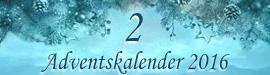 Gewinnspiel: Adventskalender 2016 - Tag 02