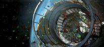�berlebenskampf in zerst�rter Raumstation
