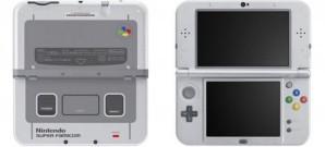 Nintendo kündigt 3DS XL im SNES-Design an