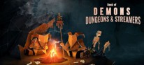 Book of Demons: Dungeons & Streamers: Parodistisches Action-Rollenspiel erhält Twitch- und Mixer-Integration