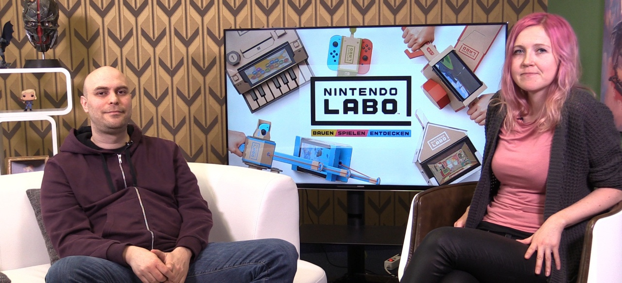 4Players-Talk: Nintendo Labo Hands-On