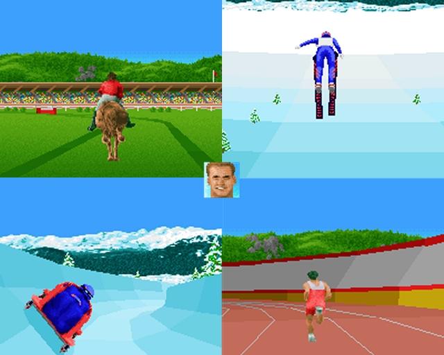 All diese Spiele setzten noch auf eine 2D-Darstellung des Sports. Erst Anfang der 90er wurden die Computer leistungsfähiger, die Entwickler wagemutiger - 3D war in, uiuiuiii! Am deutlichsten bekam man den Fortschritt bei den Sportspielen von Accolade zu sehen: »The Games: Summer Challenge« und das gleichsam sperrig benannte »The Games: Winter Challenge« sahen nicht nur für damalige Verhältnisse unfassbar gut aus, sondern spielten sich auch noch super! 1980383