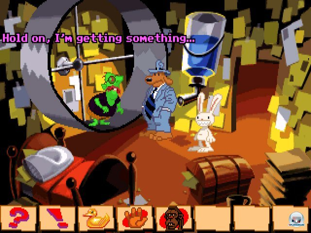 Screenshot - Sam & Max Hit the Road (PC) 92431797