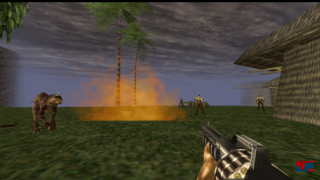 Screenshot - Turok: Dinosaur Hunter (PC)