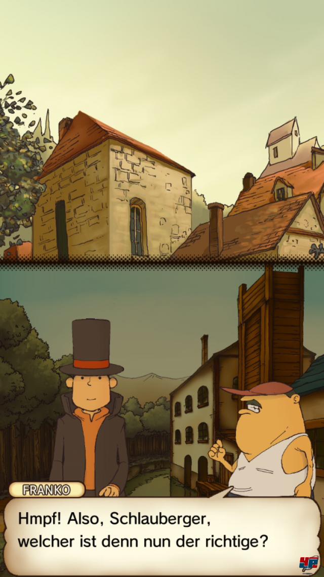 Screenshot - Professor Layton und das geheimnisvolle Dorf (Android)