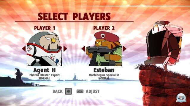 Screenshot - Rocketbirds: Hardboiled Chicken (PC)