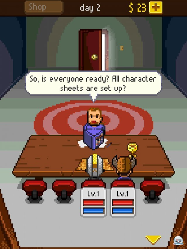 Screenshot - Knights of Pen & Paper (iPad) 92458309