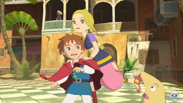Screenshot - Ni No Kuni: Der Fluch der Wei�en K�nigin (PlayStation3)