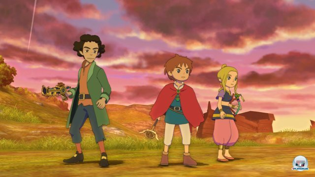 Screenshot - Ni No Kuni: Der Fluch der Weißen Königin (PlayStation3)