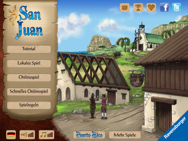 Vom Brettspiel zum Videospiel: San Juan wurde gut fr iOS umgesetzt.