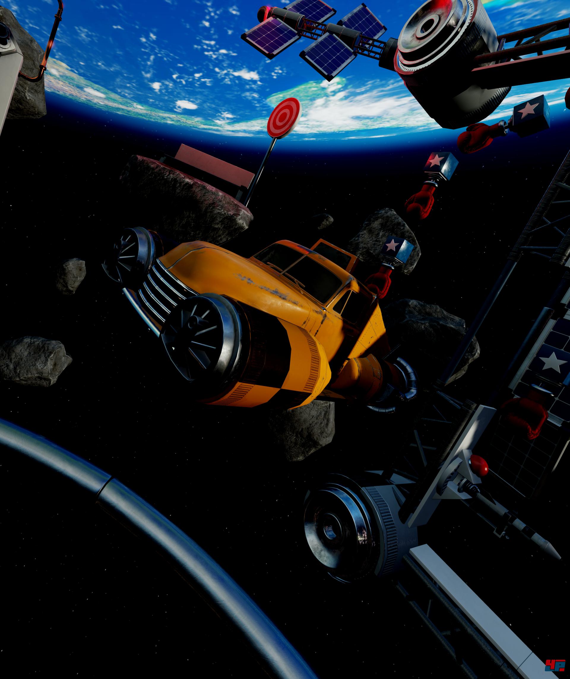 Crazy Machines VR Puzzles mit Kettenreaktionen für VR Headsets