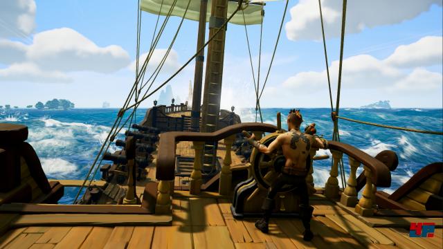 Worum geht es? Als Piraten-Crew startet man an Land und sticht anschließend gemeinsam in See, um die Schiffe anderer Spieler zu versenken.