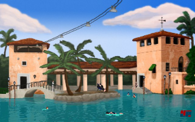 ...verschlägt es Alfie Banks nach Miami - die Stadt des Immobilien-Booms der Zwanziger Jahre..