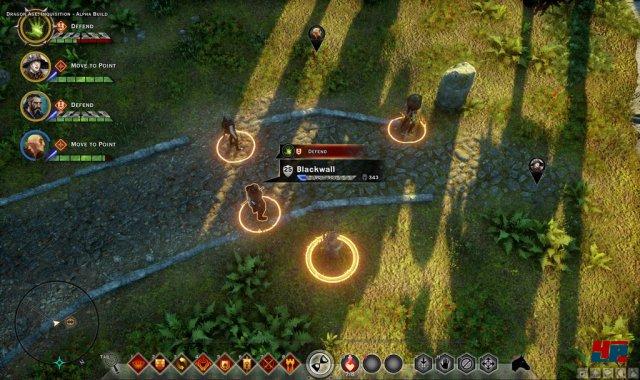 Der  Screenshot stammt von Mark Darrah - Executive Producer der  Dragon-Age-Reihe bei BioWare. Bis zur Veröffentlichung des Spiels soll aber noch am Interface gefeilt werden.