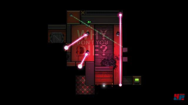 Laserschranken sind eine der zahlreichen Gefahren: Wie kommt ein Klon hier nur vorbei?