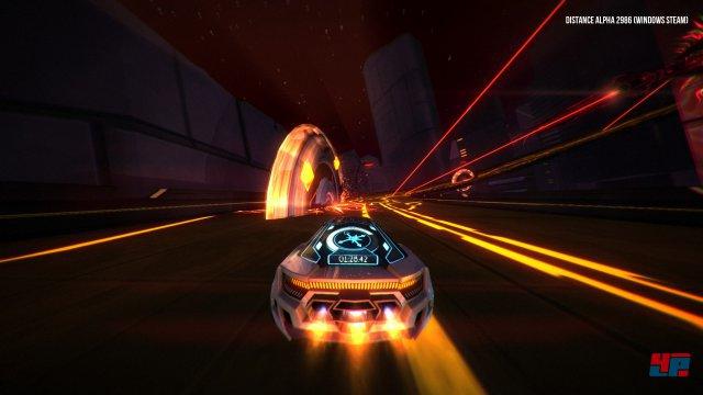 """Vorsicht, Falle: Entwickler Refract nennt sein Spiel nicht ohne Grund einen """"Survival-Racer""""."""
