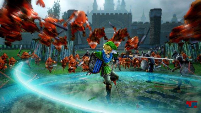 Ein echtes Warriors-Spiel: Hunderte von Gegnern fliegen meist ohne Gegenwehr durch die Gegend.