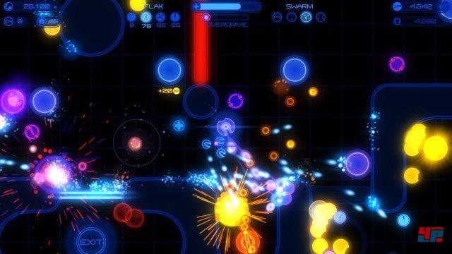 Inferno 2 bietet gelungene Zweistick-Action.