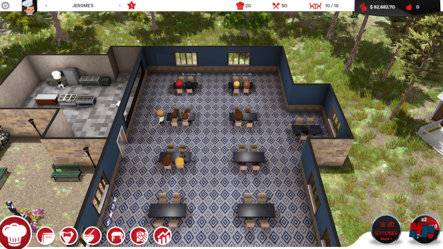 Screenshot - Chef - A Restaurant Tycoon Game (PC)