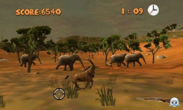 Screenshot - Outdoors Unleashed: Africa 3D (3DS) 92440867