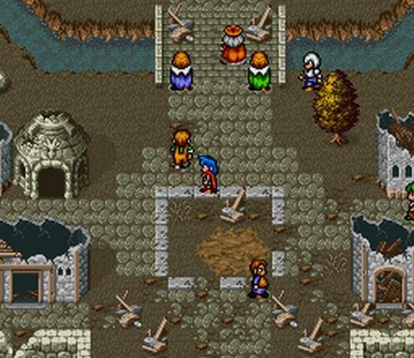 Breath of Fire (SNES 1993)<br><br>Ebenfalls 1993 veröffentlichte Capcom das erste Breath of Fire für das Super Nintendo Entertainment System (SNES), bei dem sich Protagonist Ryu während der Kämpfe in einen Drachen verwandeln konnte. Ein Jahr später erschien der Titel durch Squaresoft auch in den USA. Der zweite Teil schaffte es sogar nach Europa. Der populärste Teil der Serie dürfte aber wohl Teil drei sein, der 1997 auf Sonys PlayStation erschien und ein Jahr später ebenfalls seinen Weg nach Europa fand und später auch für PSP umgesetzt wurde. 1720274