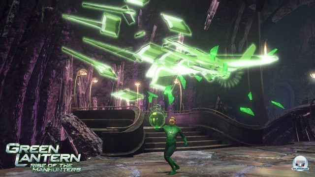 Screenshot - Green Lantern: Rise of the Manhunters (360)