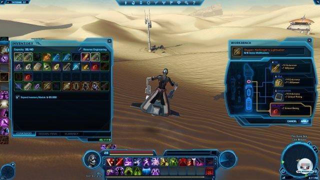 Selbst ist der Sith: Alle Einzelteile dieses Lichtschwerts kommen aus meiner Herstellung.