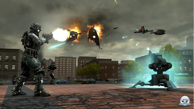 Screenshot - Earth Defense Force: Insect Armageddon (360) 2222663