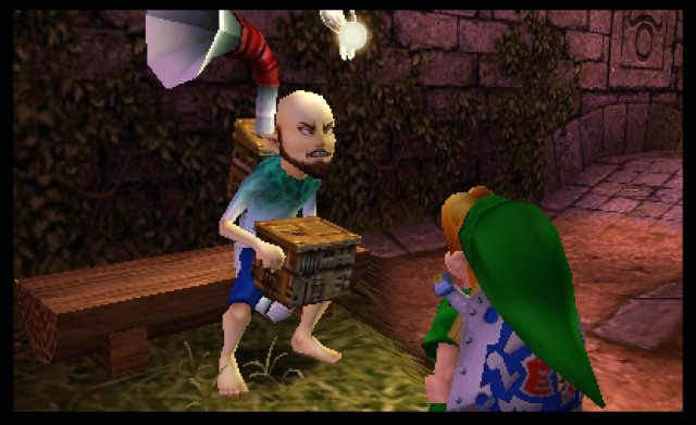 Screenshot - The Legend of Zelda: Majora's Mask 3D (3DS)
