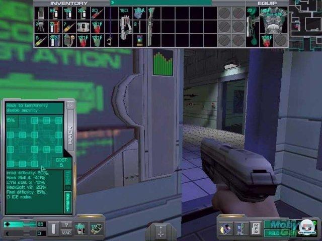<b>System Shock 2 (PC, 1999)</b><br><br> Im Nachfolger verstärkte Ken Levine den Rollenspiel-Fokus. Entwickelt wurde der Titel von Looking Glass und Irrational Games, verlegt von Electronic Arts. Die Handlung setzt die des Vorgängers fort. Bei seinem Trip durch die weite, teils gruselige Welt hat der Spieler deutlich mehr Freiheit bei der Charakter-Entwicklung... 92457898