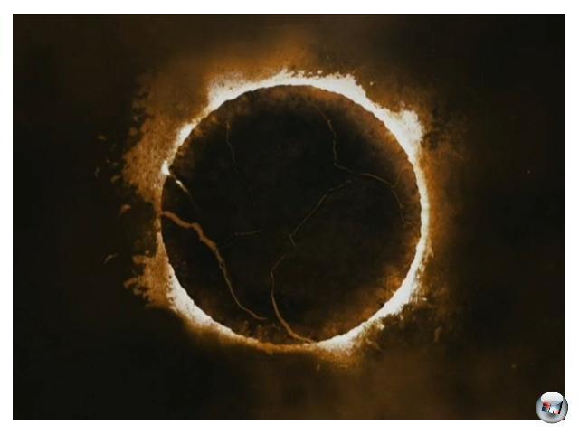 Die Bezeichnung des Chaos-Trailers bezieht sich nicht nur auf Kratos` brutale Anarchie. Chaos an sich kennzeichnet in der griechischen Mythologie den Urzustand. Wörtlich übersetzt heißt es so viel wie »Leerer Raum«. Und aus diesem Nichts entstanden gemäß Herodot fünf Götter, allen voran Gaia. 2072108