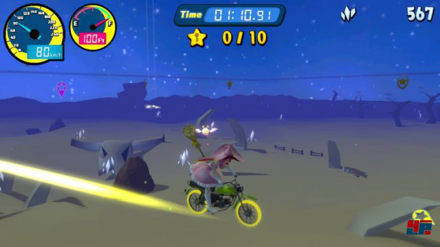 Screenshot - Vroom in the Night Sky (Switch)