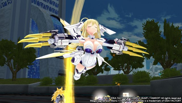 Screenshot - MegaTagmension Blanc   Neptune VS Zombies (PS_Vita) 92525100