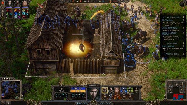 Immer drauf: Spellforce 3 vermischt Action-Rollenspiel und Fantasy-Strategie.