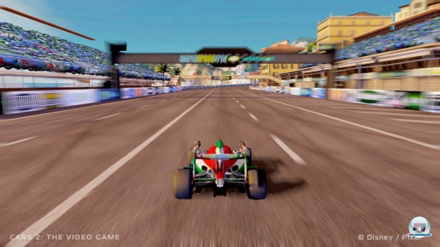 Screenshot - Cars 2: Das Videospiel (360) 2230969