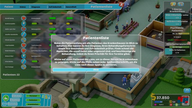 Screenshot - Two Point Hospital (PC) 92573109