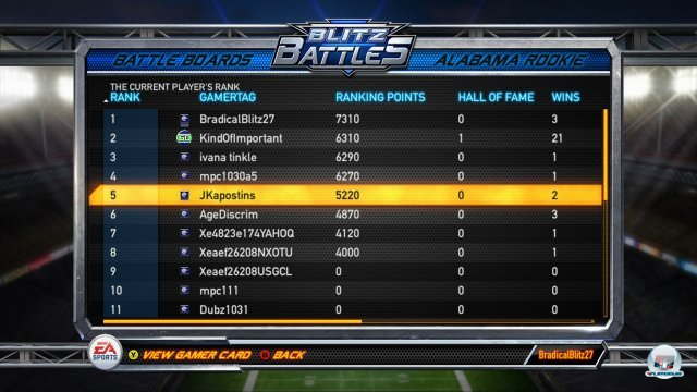 Screenshot - NFL Blitz (PlayStation3)