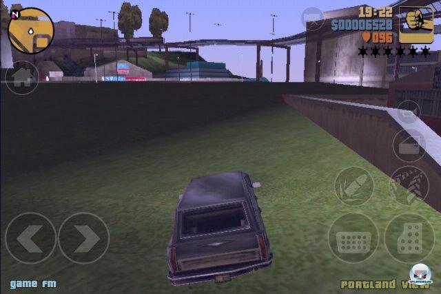 Das haben wir aber schöner in Erinnerung: Die mobile Version von GTA 3 muss technisch teilweise erheblich Federn lassen.