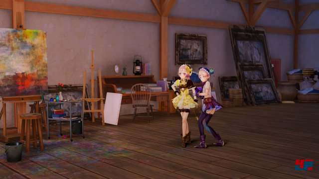 Screenshot - Atelier Lydie & Suelle: The Alchemists and the Mysterious Paintings (PC)