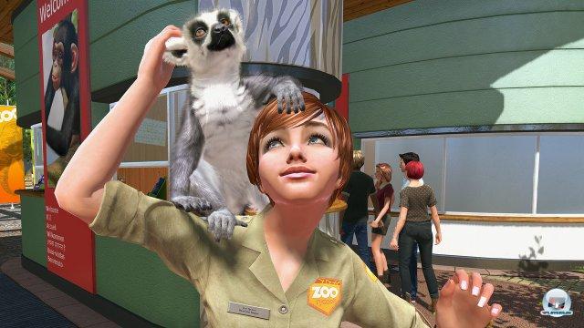 Die Tierdarstellung ist gelungen und etwa auf Kinectimals-Niveau.