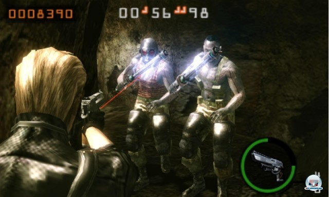 Screenshot - Resident Evil: The Mercenaries 3D (3DS) 2227498