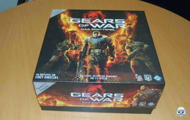 Gears of War ist dieses Jahr für knapp 50 Euro komplett auf Deutsch beim Heidelberger Spielverlag erschienen. Es ist für einen bis vier Spieler ausgelegt.