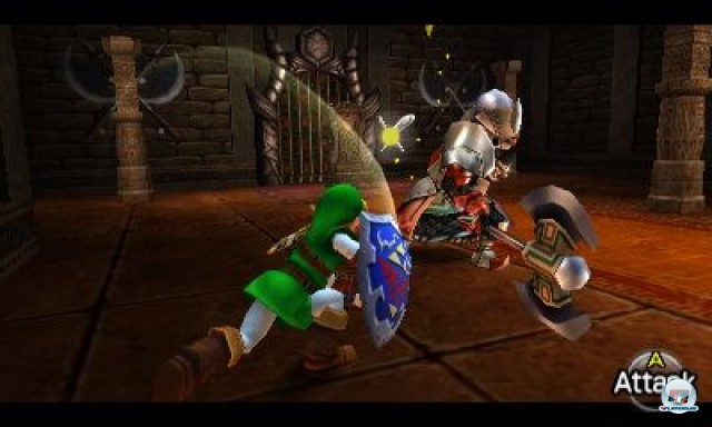 Screenshot - The Legend of Zelda: Ocarina of Time 3D (3DS)