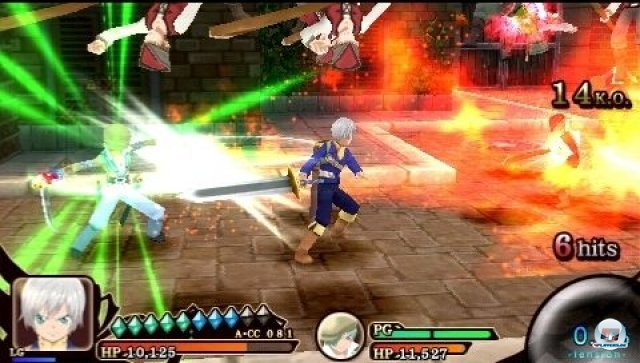 Screenshot - Tales of the Heroes: Twin Brave (PSP) 2295457
