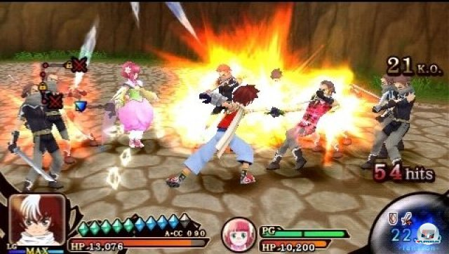 Screenshot - Tales of the Heroes: Twin Brave (PSP) 2295507