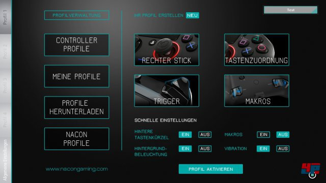 Screenshot - NACON Revolution Pro Controller (PS4)