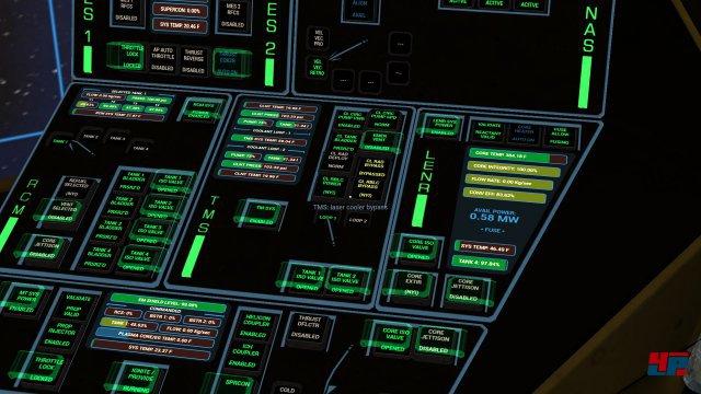Ein Traum f�r Science-Fiction-Fans: Jeder Knopf und alle Hebel sind bedienbar.