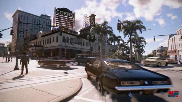 Die offene Welt lockt ähnlich wie Grand Theft Auto 5 mit viel Freiraum zum Erkunden.