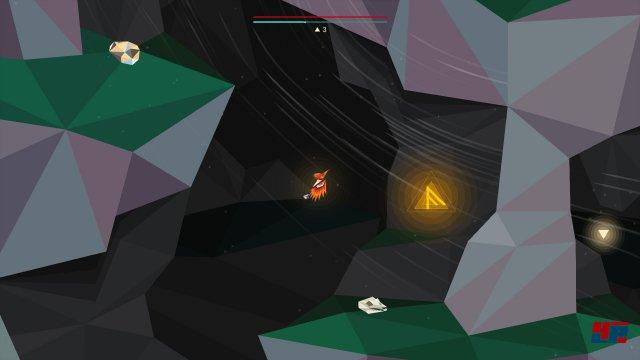 Für die F-Rune muss man am Anfang des Daw-Levels entweder ganz links oben oder ganz links unten in die kleine Höhle fliegen, wo sich neben der Rune auch vier kleine Schlüsselscherben sowie die Geheimkammer mit der weißen Spezialscherbe befinden.