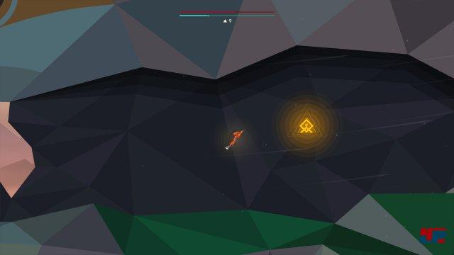 Um an die Q-Rune zu gelangen, muss man zunächst die zerbrochene Vogelstatue im Swamp-Level zusammensetzen und dann rechts in den Tunnel unterhalb des steinernen Vogelkopfes fliegen.